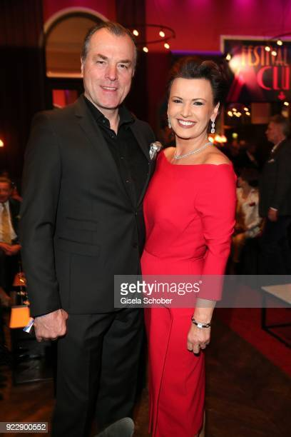 Clemens Toennies and his wife Margit Toennies during the BUNTE BMW Festival Night 2018 on the occasion of the 68th Berlinale International Film...
