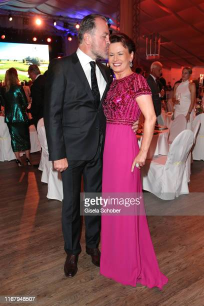 Clemens Toennies and his wife Margit Toennies during the EAGLES Praesidenten Golf Cup Gala Evening on September 13 2019 in Bad Griesbach Germany