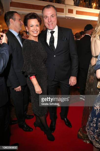 Clemens Toennies and his wife Margit Toennies during the McDonald's Benefiz Gala benefit to McDonald's Kinderhilfe Stiftung at hotel Bayerischer Hof...