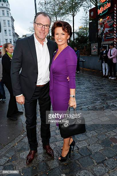 Clemens Toennies and Margit Toennies attend the 'Nacht der Legenden' at Schmidts Tivoli on September 04, 2016 in Hamburg, Germany.
