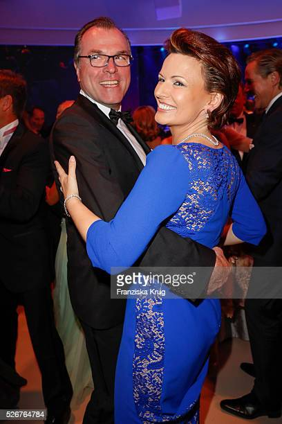 Clemens Toennies and Margit Toennies attend the Rosenball 2016 on April 30 in Berlin, Germany.