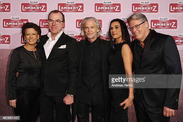 Clemens Toennies with his wife Margit Toennies, Hermann Buehlbecker, and Heiner and Ela Kamps arrive for the Lambertz Monday Night 2015 at Alter...