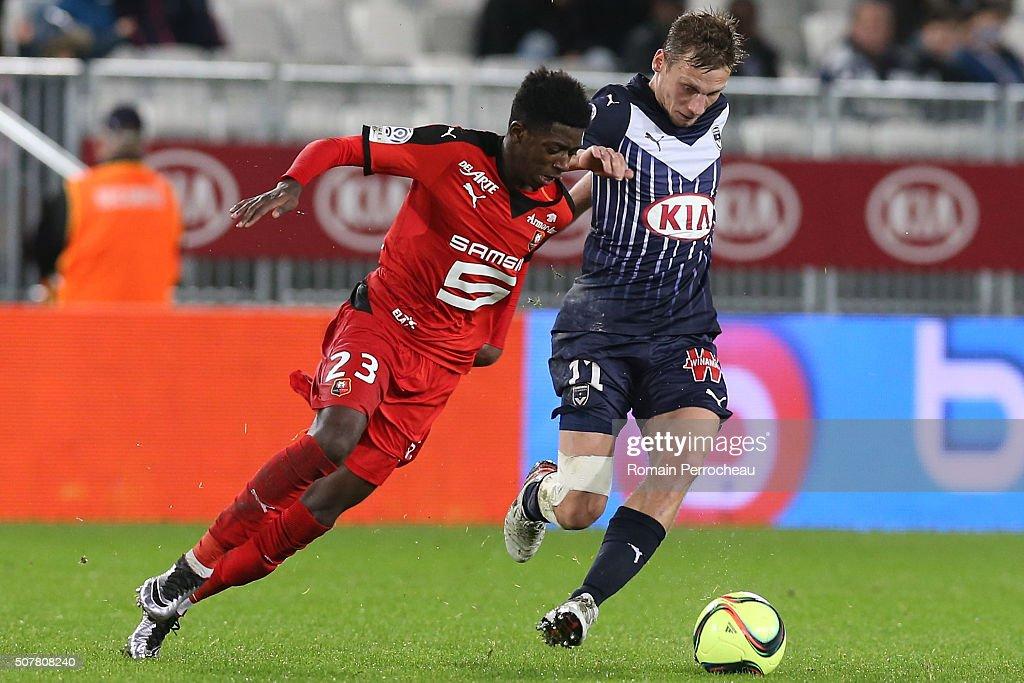 FC Girondins de Bordeaux v Stade Rennes - Ligue 1 : News Photo