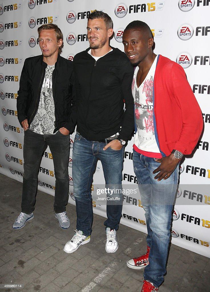 'Fifa 15' : Party At L'Opera Restaurant in Paris