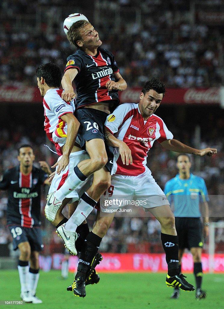 Sevilla v Paris Saint Germain - UEFA Europa League