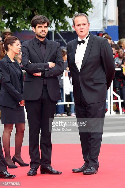 Clement lemoine and Frederic Cassoly attend the red carpet for the Palme D'Or winners at the 67th Annual Cannes Film Festival>> on May 25 2014 in...