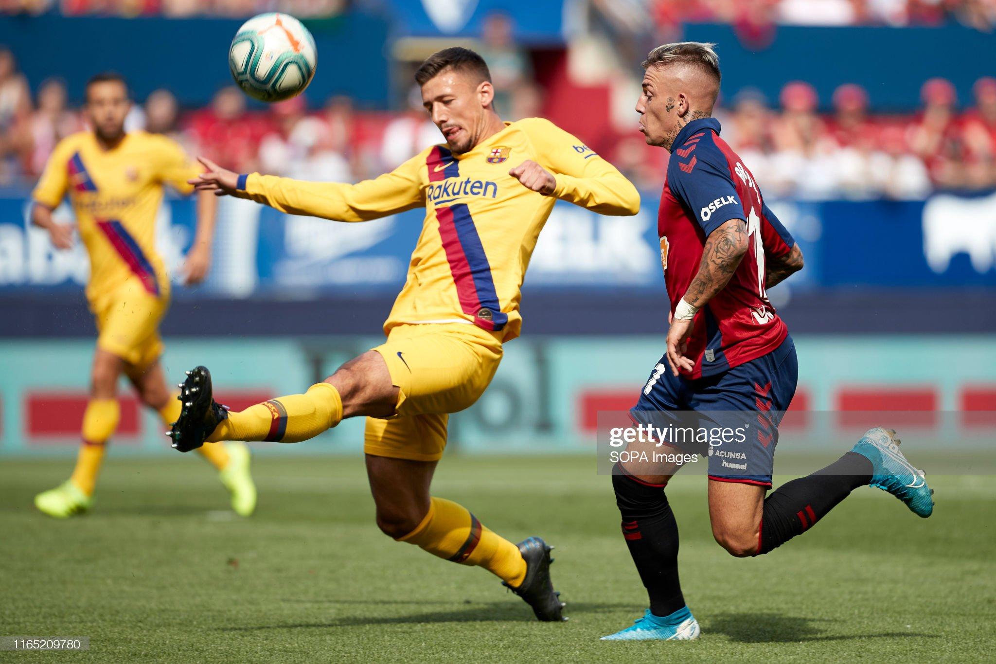 صور مباراة : أوساسونا - برشلونة 2-2 ( 31-08-2019 )  Clement-lenglet-and-brandon-thomas-llamas-in-action-during-the-la-picture-id1165209780?s=2048x2048