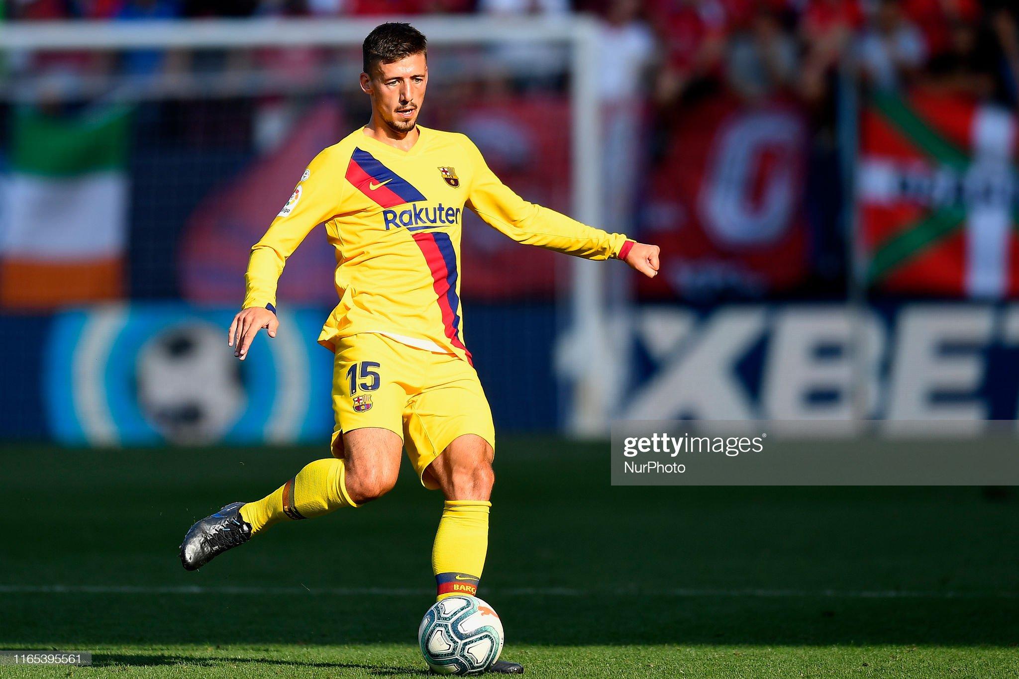 صور مباراة : أوساسونا - برشلونة 2-2 ( 31-08-2019 )  Clement-lenglet-of-barcelona-does-passed-during-the-liga-match-ca-picture-id1165395561?s=2048x2048