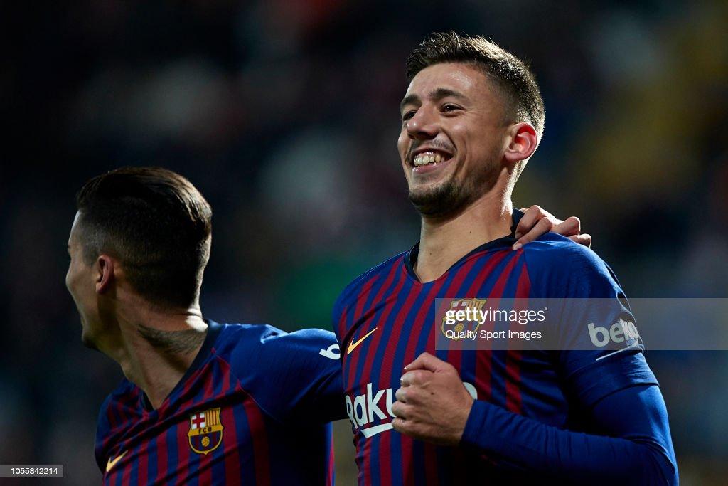 Cultura Leonesa v FC Barcelona - Spanish Copa del Rey : ニュース写真