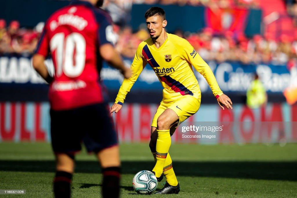 Osasuna v FC Barcelona - La Liga Santander : News Photo
