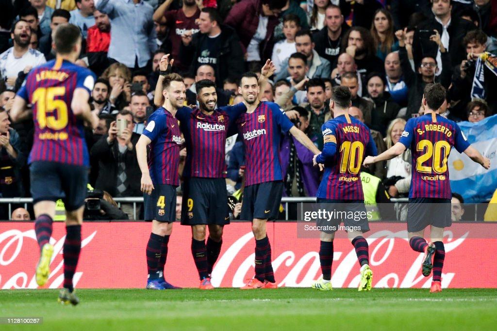Real Madrid v FC Barcelona - Spanish Copa del Rey : ニュース写真
