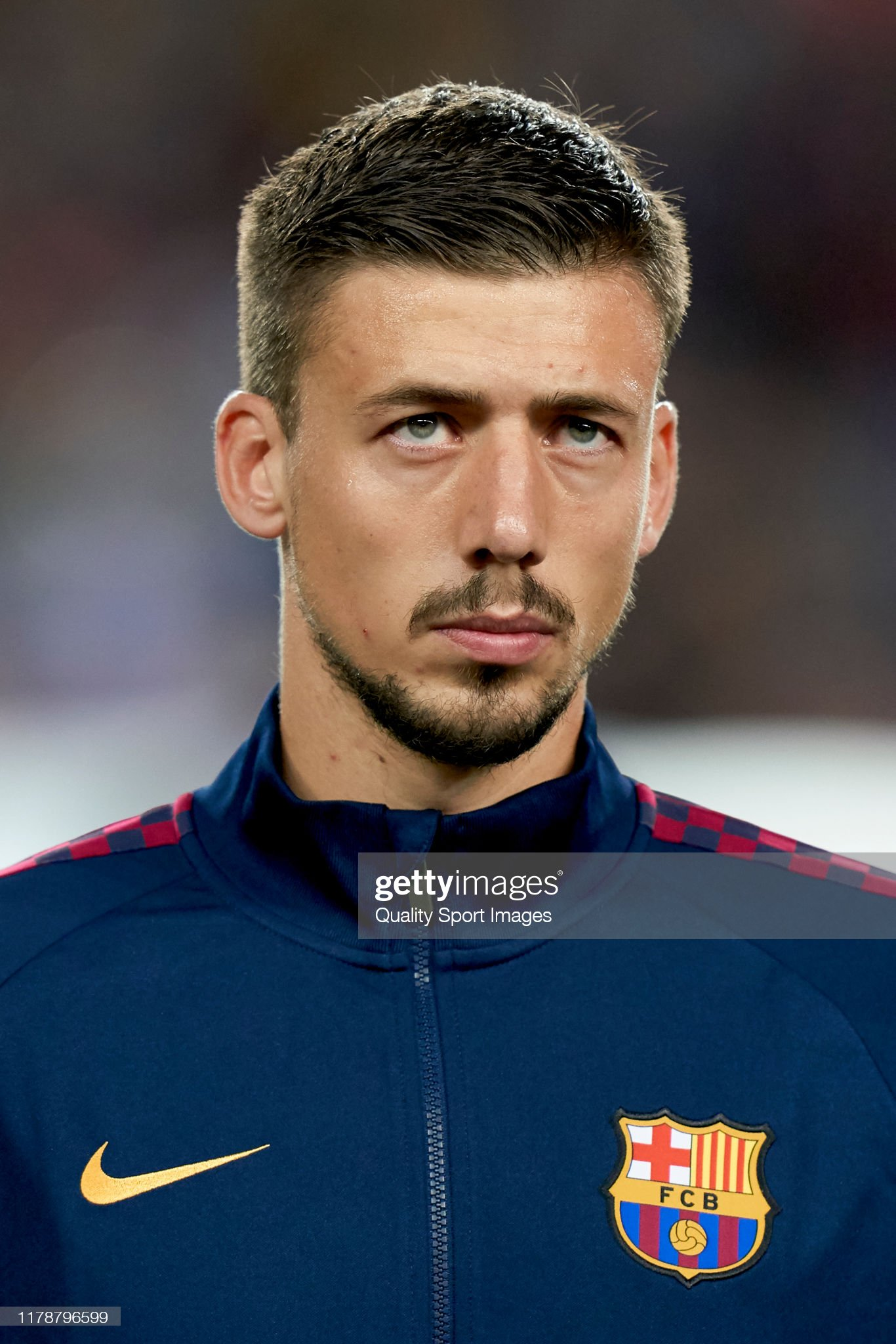 صور مباراة : برشلونة - إنتر 2-1 ( 02-10-2019 )  Clement-lenglet-of-fc-barcelona-looks-on-prior-to-the-uefa-champions-picture-id1178796599?s=2048x2048