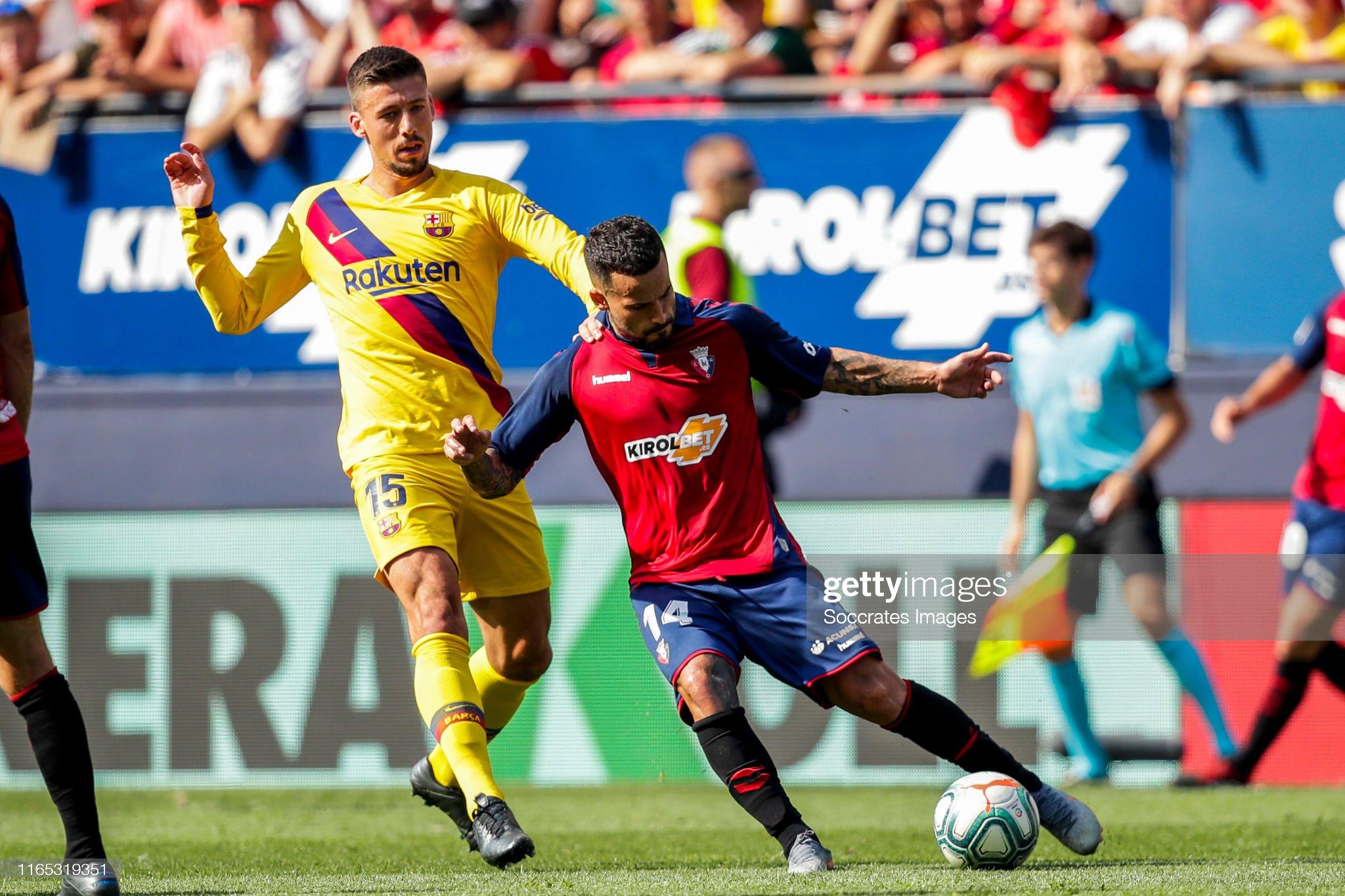 صور مباراة : أوساسونا - برشلونة 2-2 ( 31-08-2019 )  Clement-lenglet-of-fc-barcelona-ruben-garcia-of-ca-osasuna-during-the-picture-id1165319351?s=2048x2048