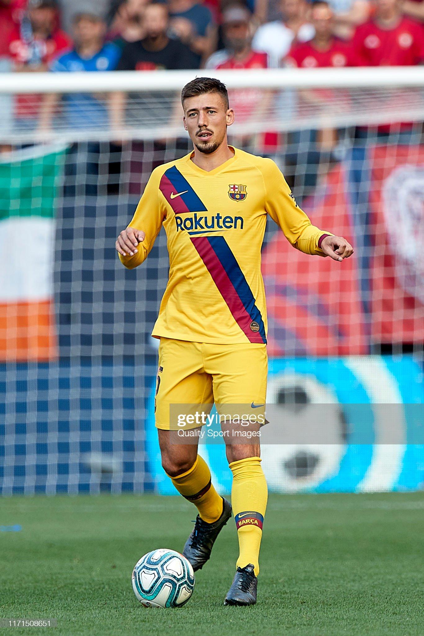 صور مباراة : أوساسونا - برشلونة 2-2 ( 31-08-2019 )  Clement-lenglet-of-fc-barcelona-with-the-ball-during-the-liga-match-picture-id1171508651?s=2048x2048