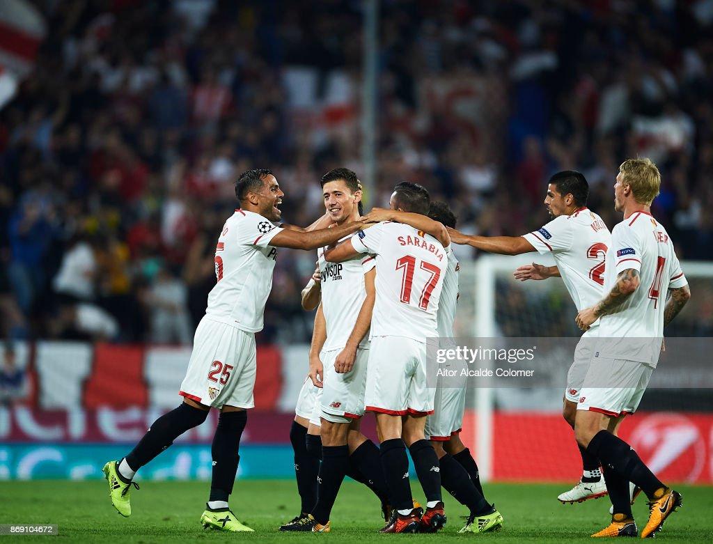 Sevilla FC v Spartak Moskva - UEFA Champions League : News Photo