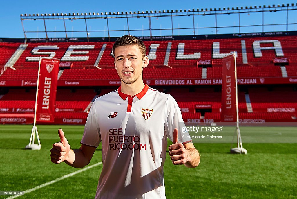 Sevilla FC unveil new signing Clement Lenglet