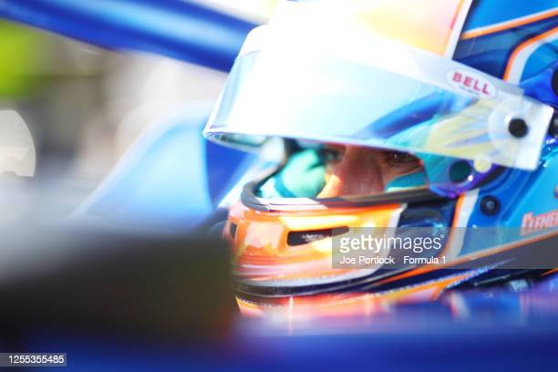 Clement Novalak of Great Britain and Carlin Buzz Racing prepares for Practice for the Formula 3 Championship at Red Bull Ring on July 10, 2020 in...
