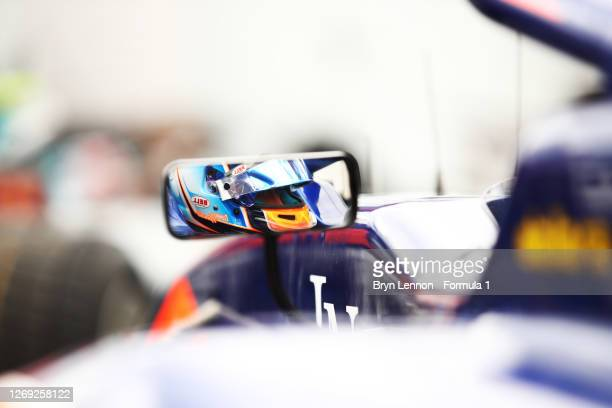 Clement Novalak of Great Britain and Carlin Buzz Racing prepares to drive during practice for the Formula 3 Championship at Circuit de...