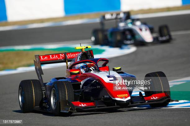 Clement Novalak of Great Britain and Trident drives at Circuito de Jerez on May 12, 2021 in Jerez de la Frontera, Spain.
