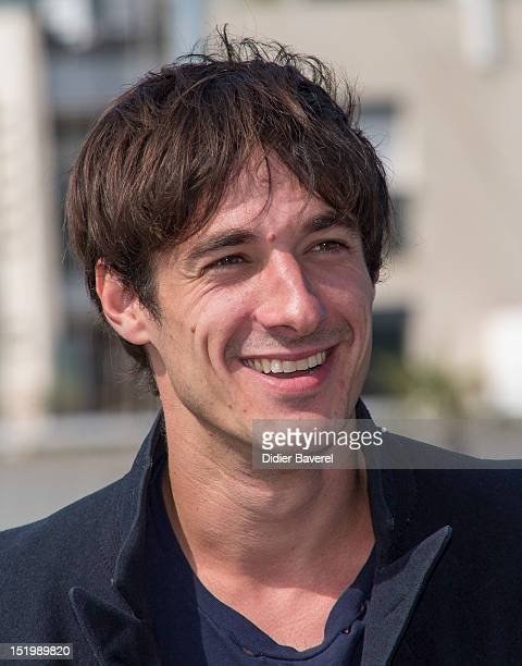 Clement Roussier poses during the 'Ainsi soit il' Photocall at La Rochelle Fiction Television Festival on September 13 2012 in La Rochelle France