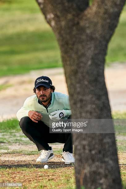 Clement Sordet of France looks on during Day 1 of the Open de Espana at Club de Campo Villa de Madrid on October 03, 2019 in Madrid, Spain.