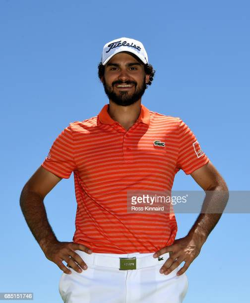 Clement Sordet of France poses for a portrait during the first round of Andalucia Costa del Sol Match Play at La Cala Resort on May 18 2017 in La...