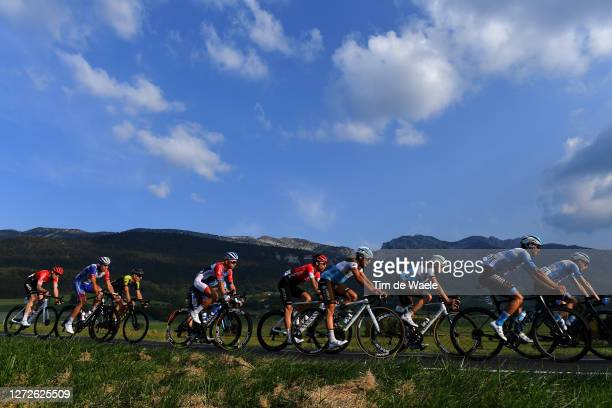Clement Venturini of France and Team Ag2R La Mondiale / Oliver Naesen of Belgium and Team Ag2R La Mondiale / Tom Van Asbroeck of Belgium and Team...