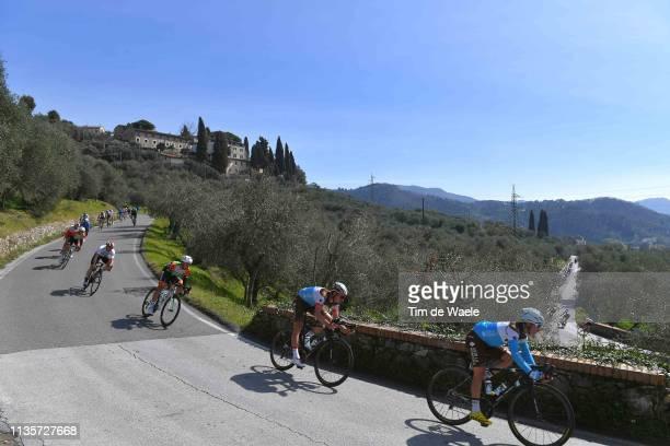 Clement Venturini of France and Team AG2R La Mondiale / Silvan Dillier of Switzerland and Team AG2R La Mondiale / Montemagno / Peloton / Landscape /...