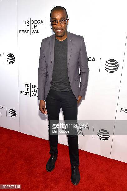 Clement Virgo attends the Tribeca Tune In Greenleaf at BMCC John Zuccotti Theater on April 20 2016 in New York City