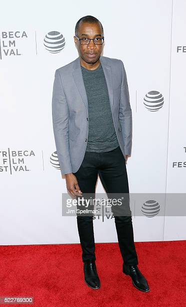 Clement Virgo attends the Tribeca Tune In Greenleaf during the 2016 Tribeca Film Festival at John Zuccotti Theater at BMCC Tribeca Performing Arts...