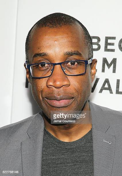 Clement Virgo attends the Tribeca Tune In 'Greenleaf' Screening at John Zuccotti Theater at BMCC Tribeca Performing Arts Center on April 20 2016 in...