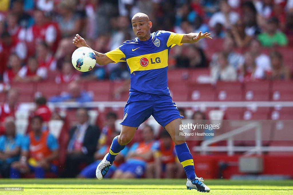 Boca Juniors v Paris St Germain - Emirates Cup