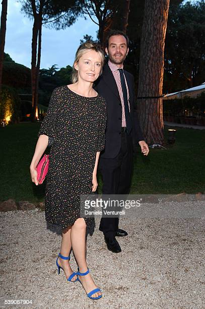 Clementina Cordero di Montezemolo and Flavio Misciattelli attend McKim Medal Gala In Rome at Villa Aurelia on June 9, 2016 in Rome, Italy.