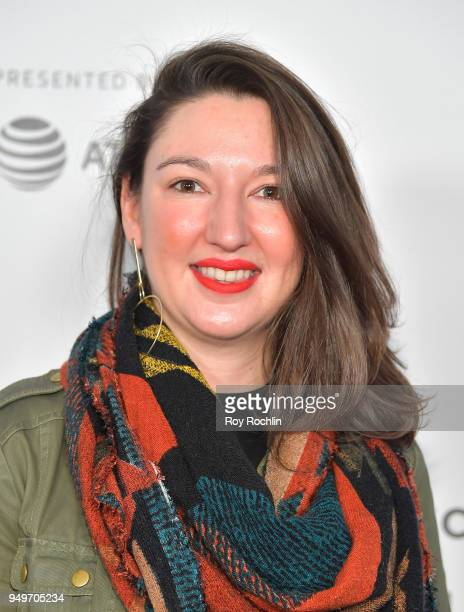 Clementine Briand attends the Shorts Program The History of White People in America during the 2018 Tribeca Film Festival at Regal Battery Park 11 on...