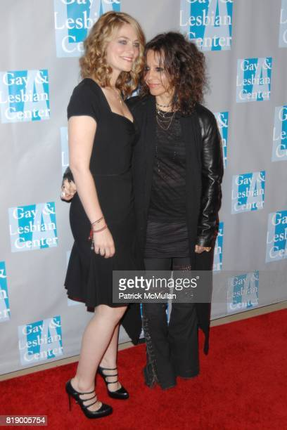 Clementine Ford and Linda Perry attend LA Gay Lesbian Center's An Evening With Women at Beverly Hilton Hotel on May 1 2010 in Beverly Hills CA