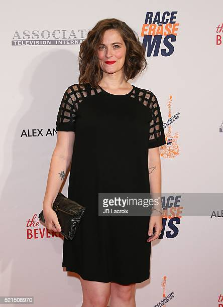 Clementine Ford attends the 23rd Annual Race To Erase MS Gala at The Beverly Hilton Hotel on April 15 2016 in Beverly Hills California