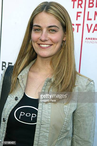 Clementine Ford daughter of Cybill Shepherd during 3rd Annual Tribeca Film Festival Last Goodbye World Premiere at UA Theater Battery Park in New...