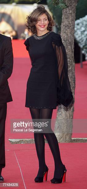 Clementine Igou walks the red carpet during day 4 of the 2nd Rome Film Festival on October 21 2007 in Rome Italy
