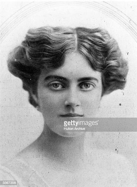Clementine Ogilvy Hozier before her marriage to Sir Winston Churchill Created a life peer in 1965 she took the title of Baroness SpencerChurchill of...