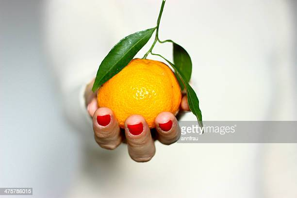 A clementine