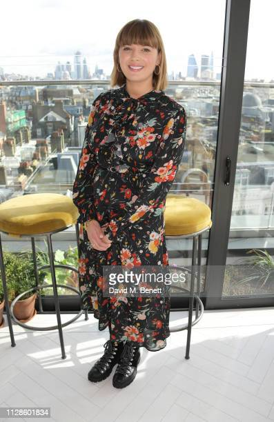 Clemmie Hooper attends the mothers2mothers Wonder Women Tea at Bourne Hollingsworth's Garden Room on March 4 2019 in London England