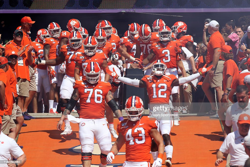 Clemson Football Players Touch Howard S Rock As The Enter The Stadium News Photo Getty Images If you're a clemson tiger fanatic or a college football junkie then you're in the right place! 2