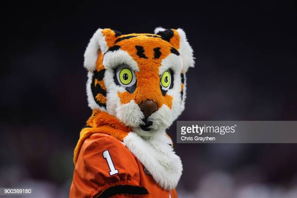 Clemson Tigers mascot is seen during the first quarter in the AllState Sugar Bowl against the Alabama Crimson Tide at the MercedesBenz Superdome on...