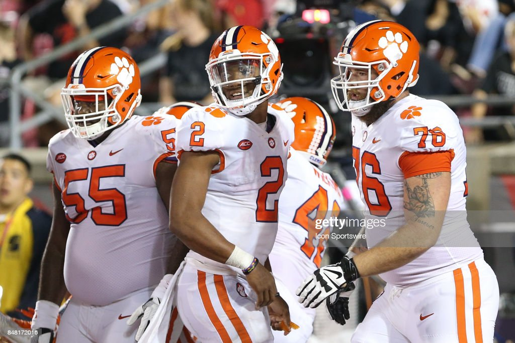 College Football Sep 16 Clemson At Louisville Pictures Getty Images