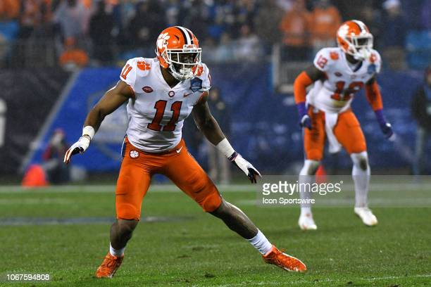 Clemson Tigers safety Isaiah Simmons during the ACC Championship game between the Pittsburgh Panthers and the Clemson Tigers on December 012018 at...