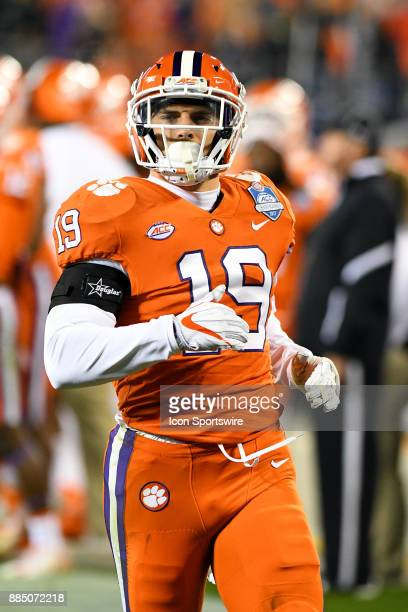 Clemson Tigers safety Tanner Muse makes his way down field on a kickoff during the ACC Championship game between the Miami Hurricanes and the Clemson...