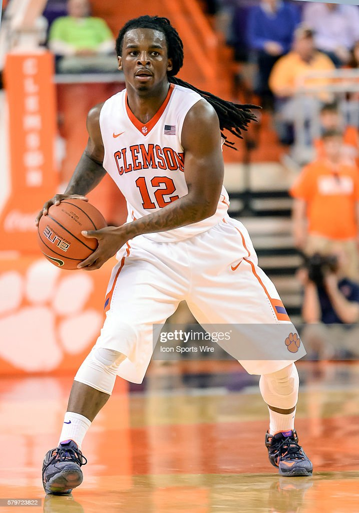 Clemson S Rod Hall During 2nd Half Action Between The