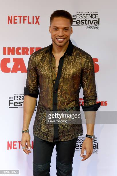 Cleo Anthony attends the Premiere Of Netflix Original Film The Incredible Jessica James At The 2017 Essence Festival on July 1 2017 in New Orleans...