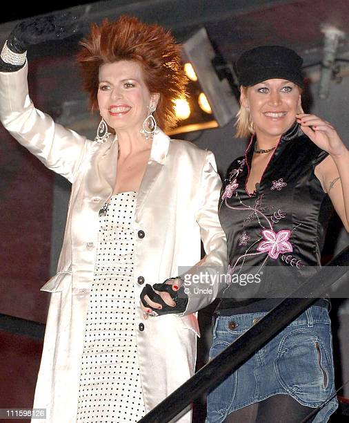 Cleo Rocos and Jo O'Meara during Celebrity Big Brother Fourth and Fifth Eviction at Elstree Studios in London Great Britain