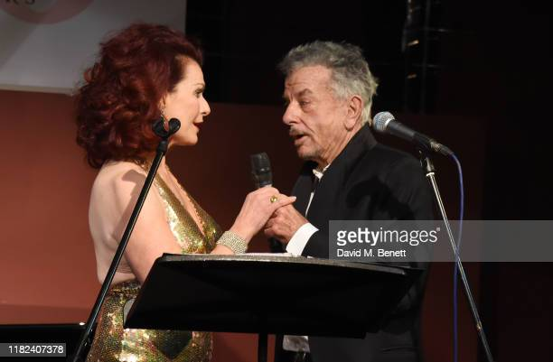Cleo Rocos and Nicky Haslam perform during The Pheasantry's 10th Anniversary on November 14 2019 in London England